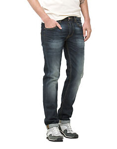 Droit Délavé Mens Jeans Coupe Glint Vert Fuseau Vintage Slim Daren Lee IBwzWqv81