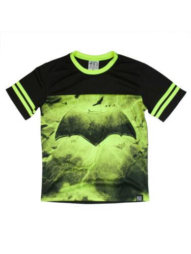 NEW Boys Justice League Batman Performance Yoke Tee T-Shirt Size 2XL XXL 18
