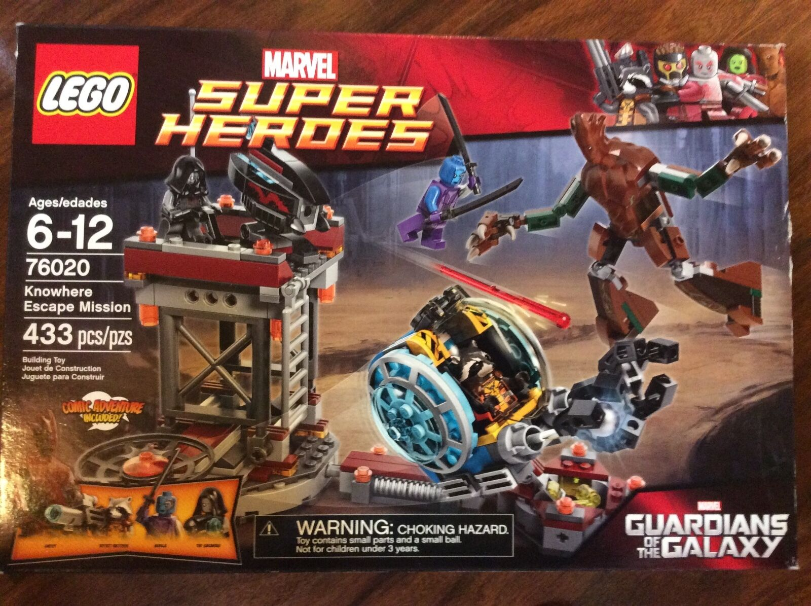 nuovo Lego Super Heroes Knowhere Escape Mission Guardians Set  76020 in Sealed scatola  outlet online