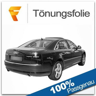 Passgenaue Tönungsfolie Audi A8 D3 2002-2010