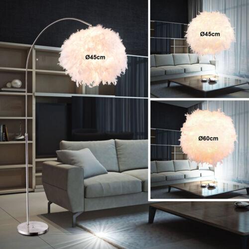 Design Feder Kugel Hänge Leuchten Steh Stand Beleuchtung Decken Pendel Lampen