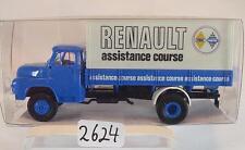 Brekina 1/87 45036 Saviem LKW Pritsche/Plane Renault assistance Course OVP #2624