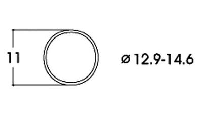 Roco 40070 Dc Traction Tyres 12.9-14.6mm (pk10) Ho Gauge Adatto Per Uomini E Donne Di Tutte Le Età In Tutte Le Stagioni