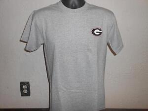 Nuevo-Menor-Flaw-Universidad-de-Georgia-Bulldogs-Hombre-TALLA-S-Pequeno-Camisa