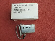 Bogen WMT-1 WMT1 15k:600 600:15k line input & output audio matching transformer