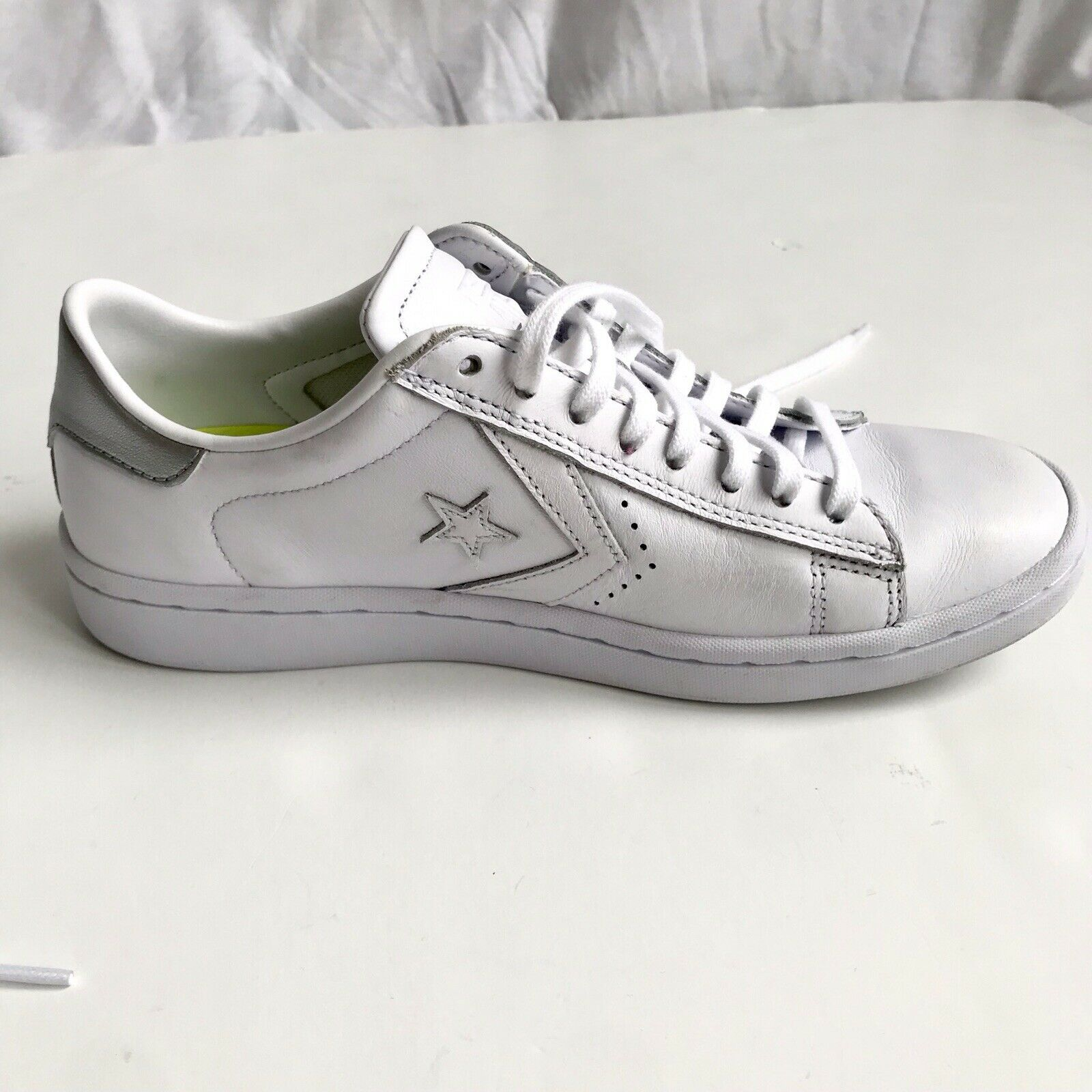 Converse donna's Pro Leather Lp Ox bianca Leo Rise scarpe Dimensione donna Dimensione 7