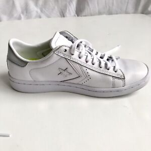 Details about Converse Women's Pro Leather Lp Ox White Leo Rise Shoes Size Women Size 7