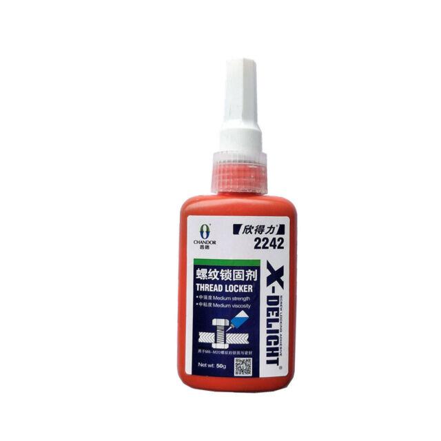 1x Thread Locker Adhesive Sealant Locktite - Blue Medium Strength