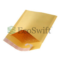 50 000 4x8 Kraft Bubble Mailers Padded Envelopes 4x8
