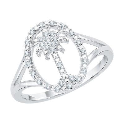 1//6 cttw, J-K, SI2-I1 KATARINA Diamond Heart Fashion Pendant Necklace in Gold or Silver