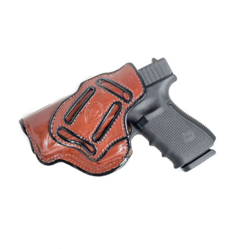MULTI-CARRY HOLSTER FOR SPRINGFIELD XD 40 IWB /& OWB LEATHER HOLSTER.