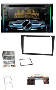 JVC-Bluetooth-2DIN-AUX-CD-MP3-USB-Autoradio-fuer-Opel-Corsa-C-Meriva-Signum-Vectr