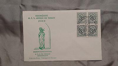 Briefmarken Europa E112 Ganzsache Eeuwfeest Onder De Toren Peer Madonaverzameling 1967 Schmerzen Haben