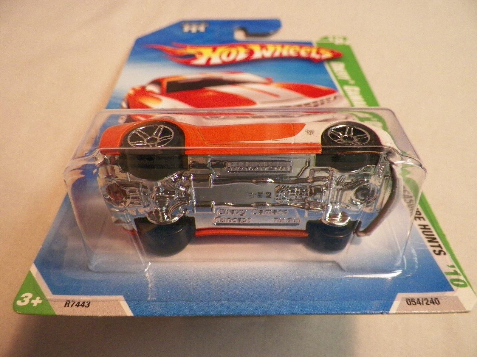 2010 Hot Wheels Wheels Wheels Chevy Camaro Concept Treasure Hunts Car 26b376