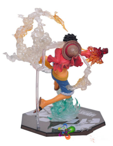 Anime One Piece Gear fourth Luffy PVC Action Figure Collection Figurine Toy Gift