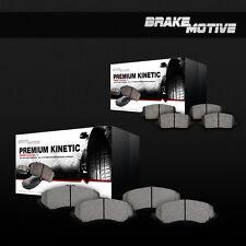 [Front and Rear] Ceramic Brake Pads Set w/ Rubber Shims Dodge Ram 1500 2500 3500