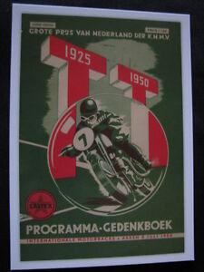 Card-Grote-Prijs-van-Nederland-der-KNMV-TT-1950-Assen