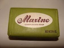 Vintage & Rare Maxine Complexion Soap Bar 3.5 oz NOS Swift Chemical Co.