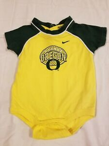 Nike-Team-University-Of-Oregon-Ducks-One-Piece-Baby-Outfit-6-9-Months-Infant