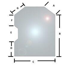 Bobcat Skid Steer Glass Door 6729776 S175 S185 T190 A220 751g 753g 763g 883