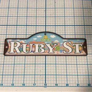 SESAME STREET Personalized Name Plaque NAME RILEY With Sesame Place Background