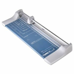 """Dahle Rolling/Rotary Paper Trimmer/Cutter, 7 Sheets, 18"""" Cut Length - DAH508"""