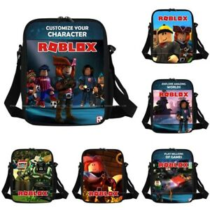 2019-Kids-Boys-Roblox-Cartoon-Insulated-Lunch-Picnic-Bag-School-Travel-Snack-UK