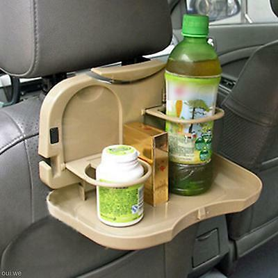 Foldable Dinner Table  Meal Drink Cup Tray Holder For Track Auto Car Accessory