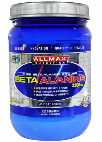 NEW ALLMAX NUTRITION BETAALANINE ANABOLIC SUPPLEMENT BOOSTS MUSCULAR ENDURANCE