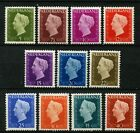 Netherlands 1947-80 Queen Wilhelmina Definitives x 11 MH Stamps #A42289