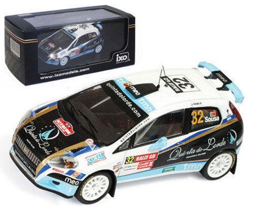 IXO RAM403 Fiat Grande Punto S2000 Wales GB Rally 2009 - B Sousa 1 43 Scale