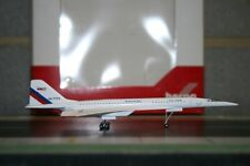HE562508 HERPA NASA SUPERSONIC FLYING LABRATORY TUPOLEVE TU144LL 1//400 DIE-CAST