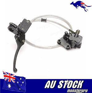 Hydraulic-Front-Disc-Brake-Caliper-System-Pads-50cc-70cc-125cc-140cc-PIT-PRO