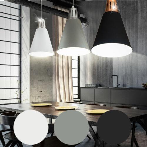 LED Decken Pendel Lampe Wohn Ess Zimmer RGB Fernbedienung Hänge Leuchte dimmbar