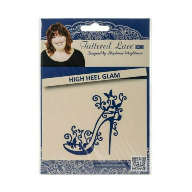 New Tattered Lace 2018 Shoe High Heel Cutting Die 442675