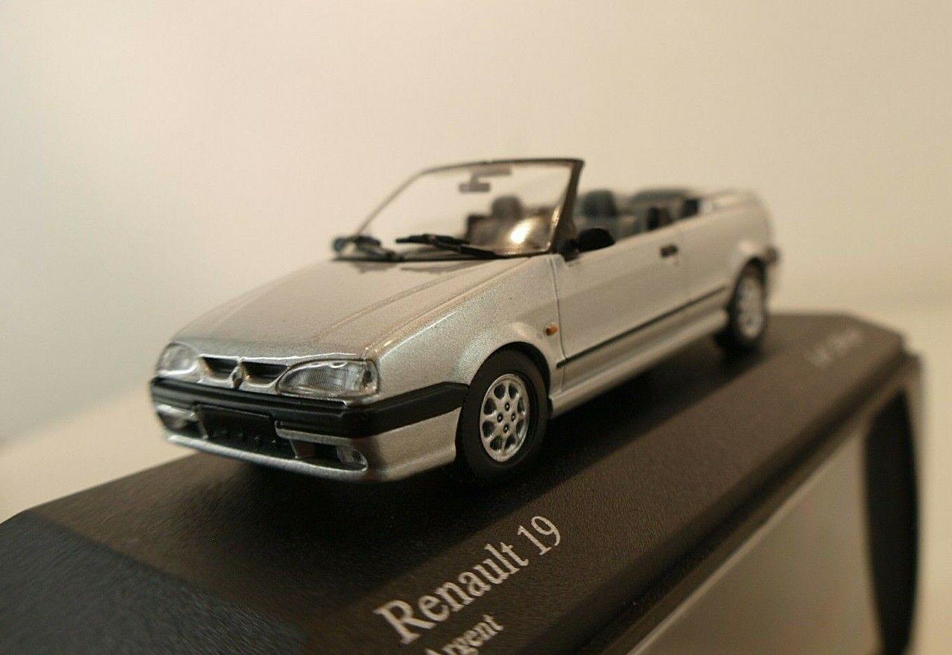 Minichamps n° 400 113730 Renault 19 Cabriolet 1992 neuf boite 1 43 edn limitée