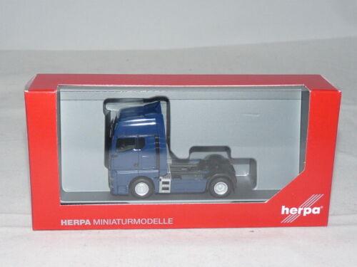 herpa 312134  MAN TGX GX Zugmaschine blau 1:87 NEU OVP