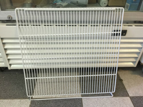 COMMERCIAL DISPLAY DOUBLE DOOR  FRIDGE  SHELF 4 X PLASTIC HOLDER