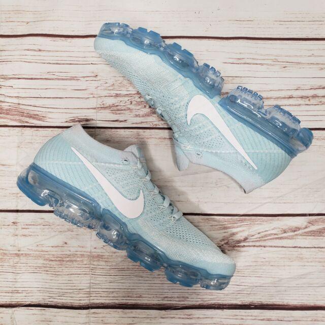 cienie kupić kup sprzedaż New Nike Air Vapormax Flyknit Glacier Blue Sz 9.5 Running Shoes 849558-404  RARE