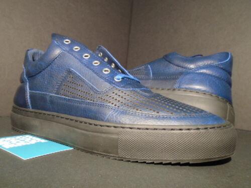 riempimento 10 bassa Blu 44 di pelle 5eac5d28c1f1511d513db14f24eb56870 Nero In Patch Sneaker Pezzi navy Top traforata L5Aj3R4