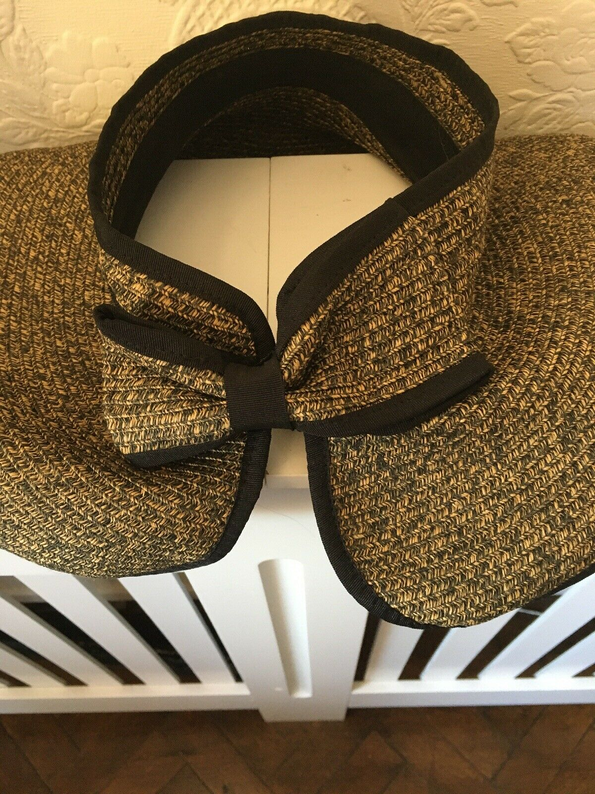 TOPLESS Hat, Wedding, Races, Special Occasions BIG HAIR Elegant SEE PICS ❤️Up Do