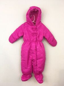 61ee3e67d Image is loading Rothschild-Infant-Baby-Girl-Bunting-Snowsuit-Puffer-Pink-