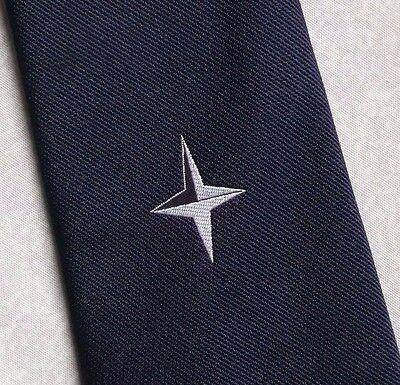 Vintage Cravatta Da Uomo Cravatta Crested Club Associazione Società-mostra Il Titolo Originale