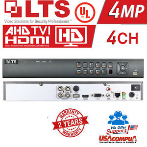 Details about LTS 4 CH DVR LTD8304K-ET PLATINUM 1080P HD TVI DVR hybrid  TVI+1CH IP (NO HDD)