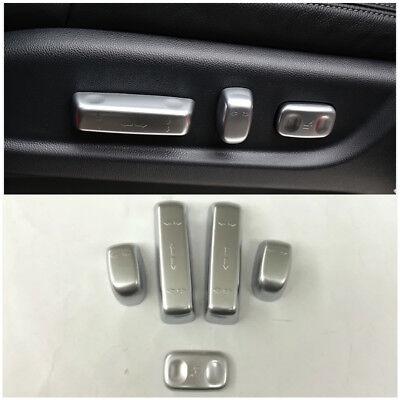 Chrome Interior Middle Console Cover Trim Molding Frame For Honda CRV 2012-2015