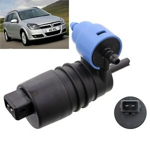Front /& Rear Windscreen Washer Pump Vauxhall Astra Estate 2004 to 2009 H type