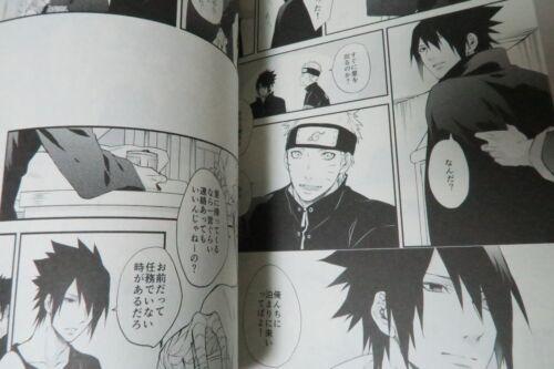 B5 20pages NARUTO Doujinshi Sasuke X Naruto umeboshi Manimani