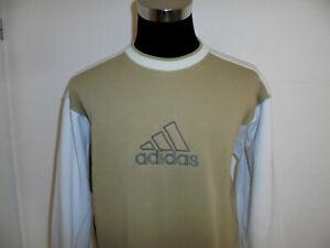 vintage 80s Adidas sweatshirt pullover sport 80er jahre oldschool pulli D6 M
