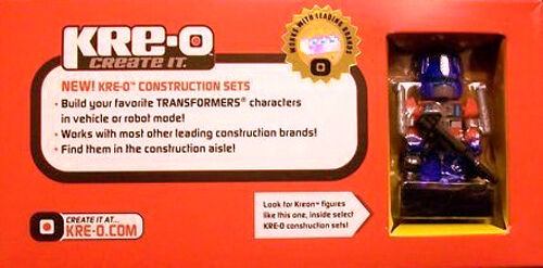 Optimus Prime San Diego comic-con Exclusive Kre-O Mini figure neuf en boîte scellée Comic détenu Kreo Transformers