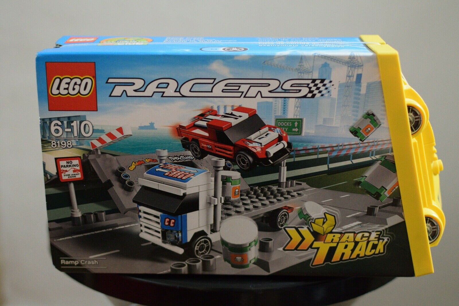 LEGO Racers CRASH RAMP 8198 FOLD OUT BRAND NEW RARE SEALED WITH ACTUAL PHOTOS